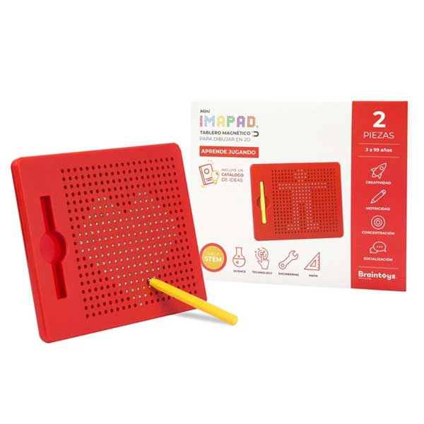 Imapad mini Rojo Braintoys