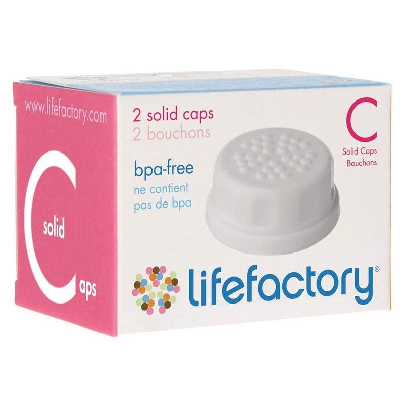 Pack 2 solidas Lifefactory blancas
