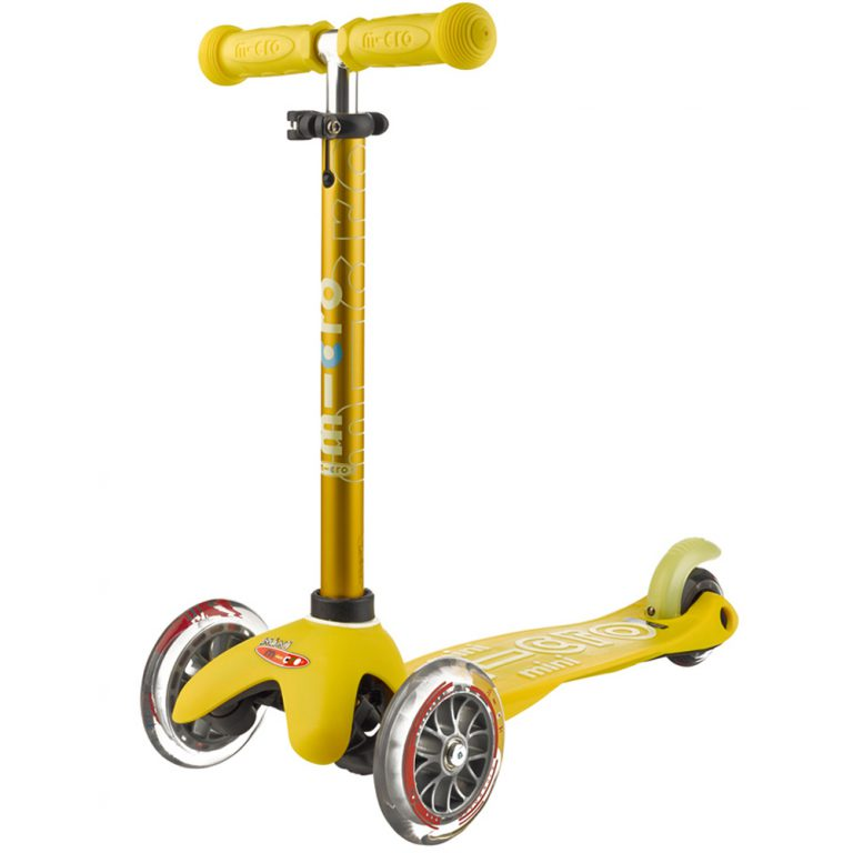 Scooter Mini Micro Deluxe amarillo