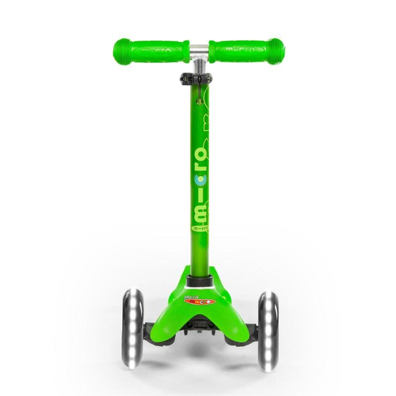Scooter Mini Micro Deluxe Led verde