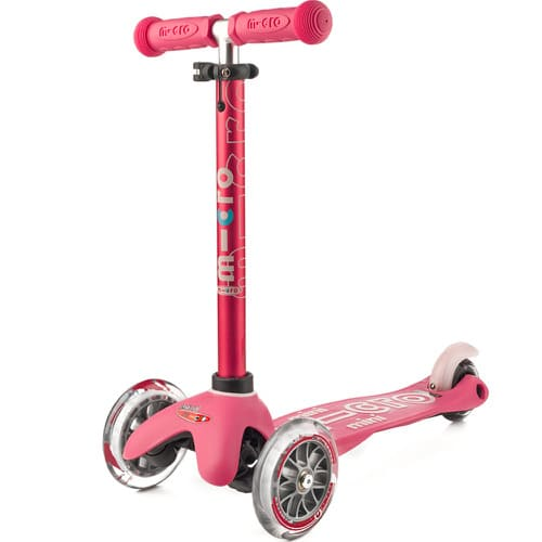 Scooter Mini Micro Deluxe rosado