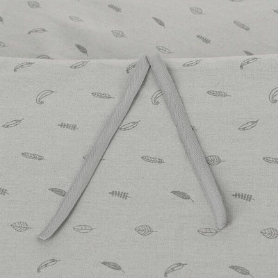 Protector Cuna 70x140 Lino Gris Owi