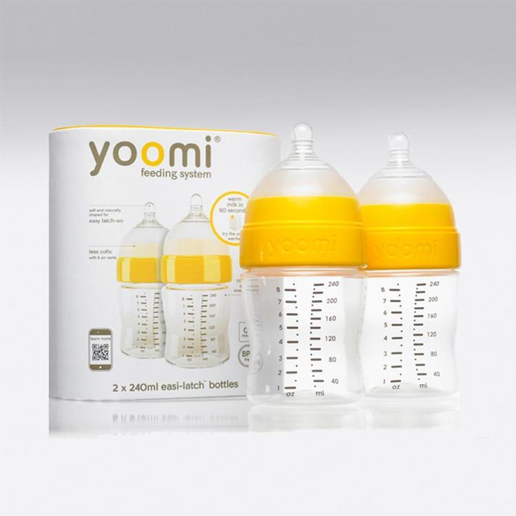 Pack 2 mamaderas 240 ml Yoomi