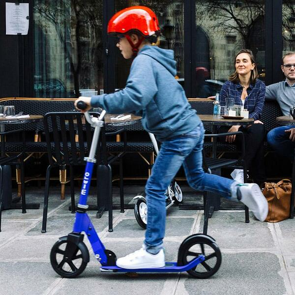 Scooter Cruiser azul Micro