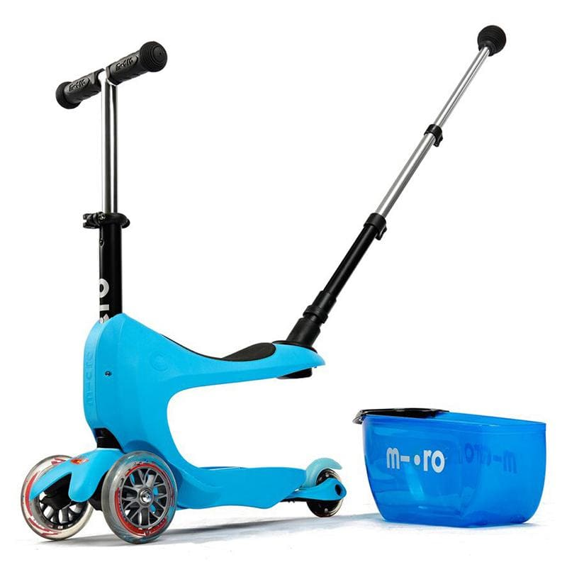 Scooter Micro Mini 2 Go Deluxe Plus azul