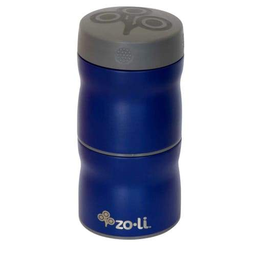 Termo doble - 240ml cada contenedor This & That Navy Zoli