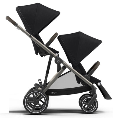 Coche Doble Gazelle S Black Cybex