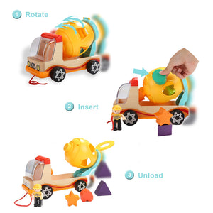 Wooden Shape Sorter Toys For Toddlers Learning Sort And Match For 1 2 Year Old