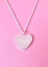 Load image into Gallery viewer, DnB Heart Necklace