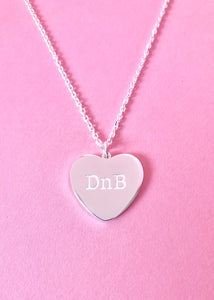 DnB Heart Necklace