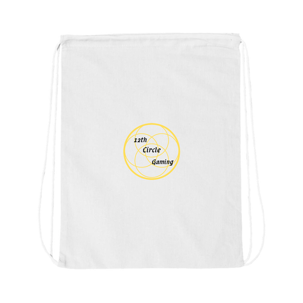 12th Circle Gaming Drawstring Bag