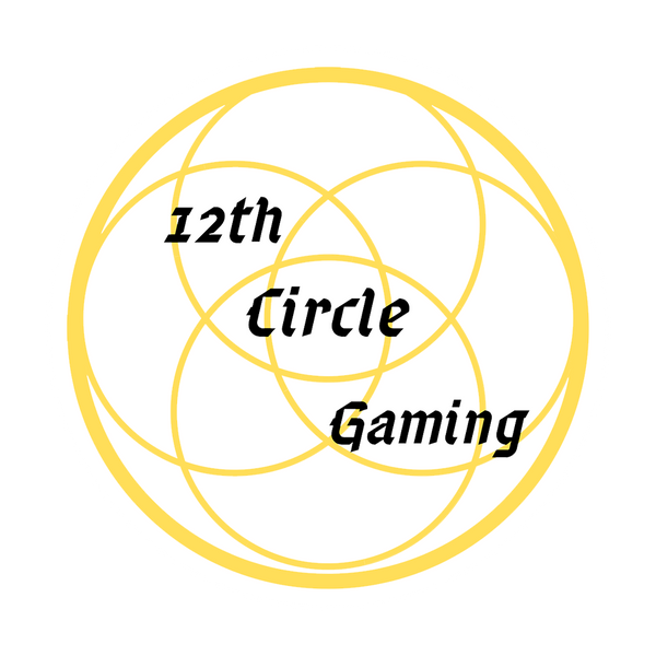 12th Circle Gaming Sticker