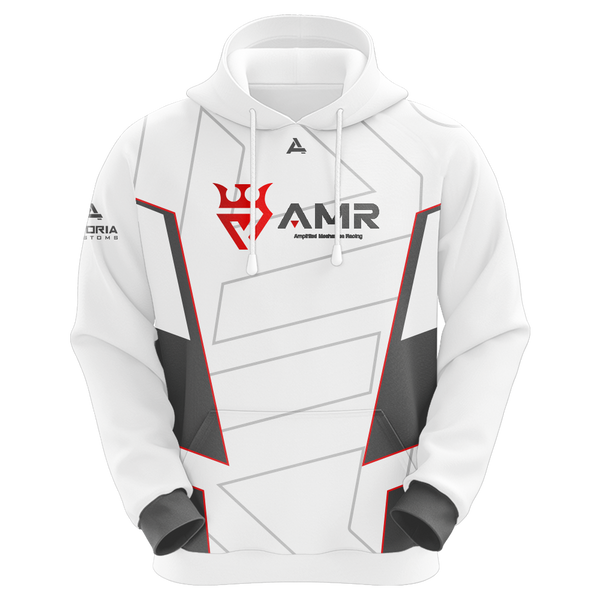 AMR Sublimated Hoodie - White