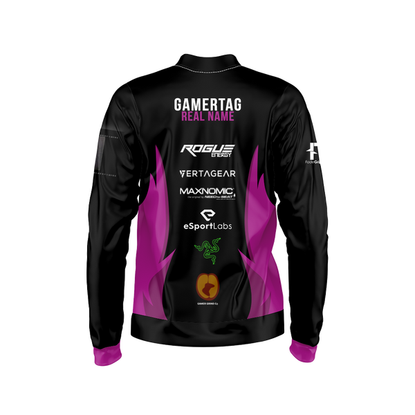 Angel's Retribution Sublimated Bomber Jacket