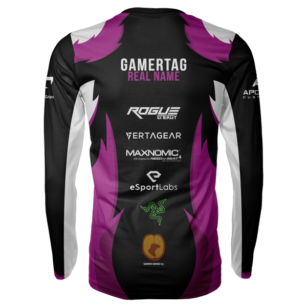 Angel's Retribution Sublimated Long Sleeve Shirt