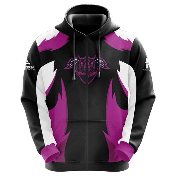 Angel's Retribution Sublimated Zip Up Hoodie