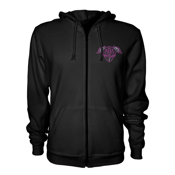 Angel's Retribution ZIp Up Hoodie