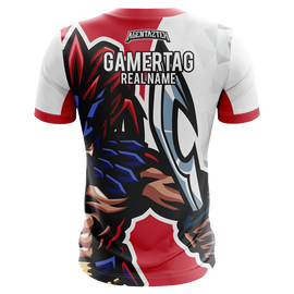 AgentAztek Short Sleeve Jersey - Red