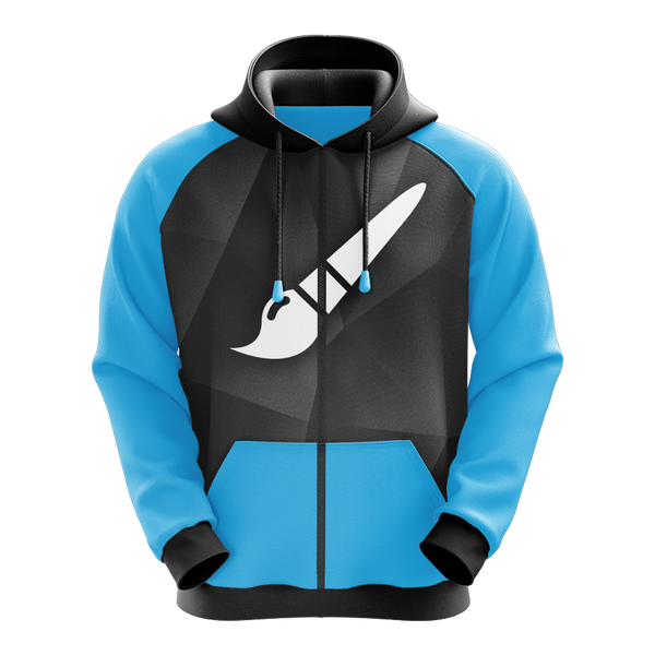 Sublimated Zip Up Hoodie Design