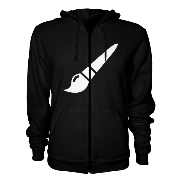 D&D Zip Up Hoodie Design
