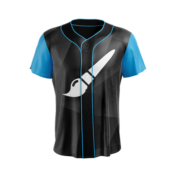 Sublimated Baseball Jersey Design