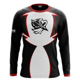 Blackknight232 White Long Sleeve Jersey