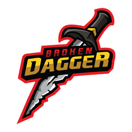 Broken Dagger Sticker