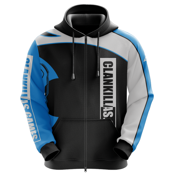 CLN KLR Sublimated Zip Up Hoodie