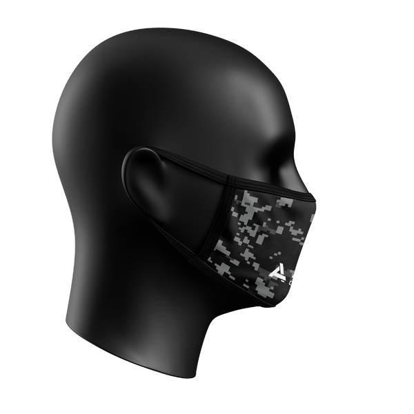 Digital Camo Face Mask