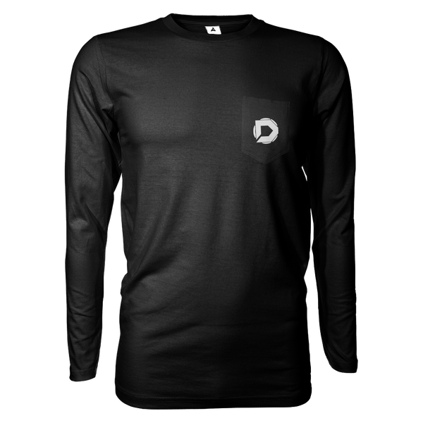 DisruptAlliance Long Sleeve Shirt w/Pocket