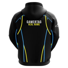 DadGotGame Sublimated Hoodie - Black