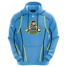 DadGotGame Sublimated Hoodie - Blue