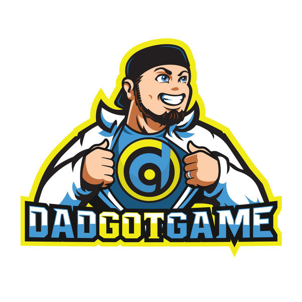 DadGotGame Sticker