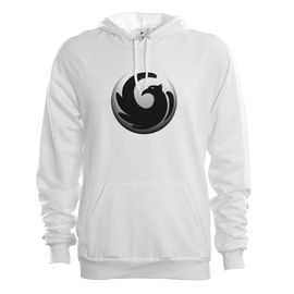 Dark Enforce White Hoodie
