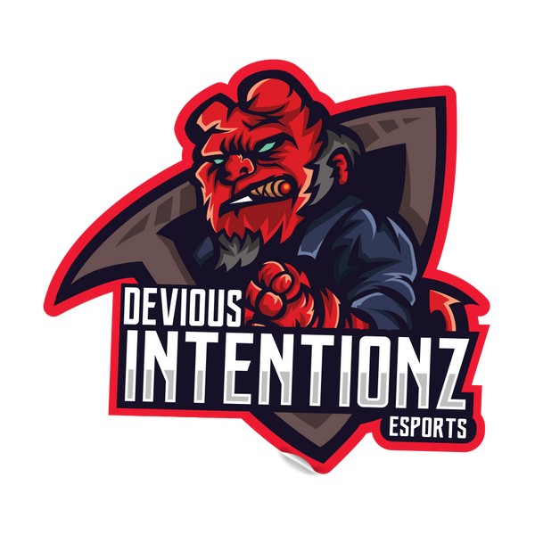 Devious Intentionz Sticker V1