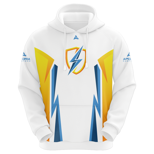 DreamzTV White Sublimated Hoodie