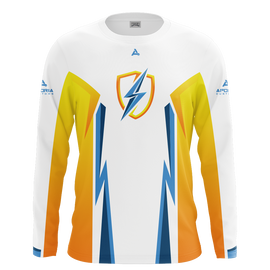 DreamzTV White Long Sleeve Jersey