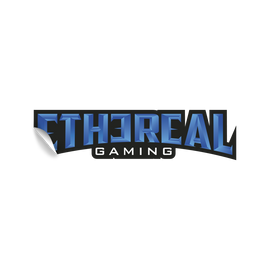 Ethereal Gaming Text Sticker