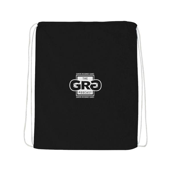 The G.R.G Podcast Drawstring Bag