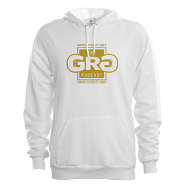 The G.R.G Podcast Hoodie - White