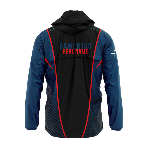 GRM Gaming Sublimated Windbreaker w/Hood