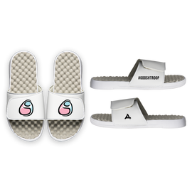 Gooshi Gaming Slides - White