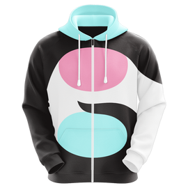 "Gooshi Gaming ""Yui"" Sublimated Zip Up Hoodie"
