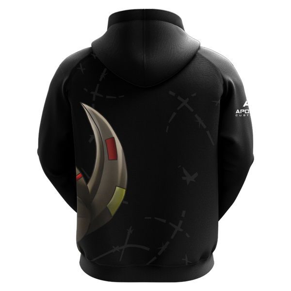 GrimLockePrime Sublimated Zip Up Hoodie