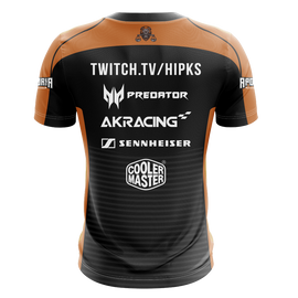 Hipks Short Sleeve Streamer Jersey