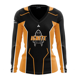 Ignite Gaming Women's Long Sleeve Jersey