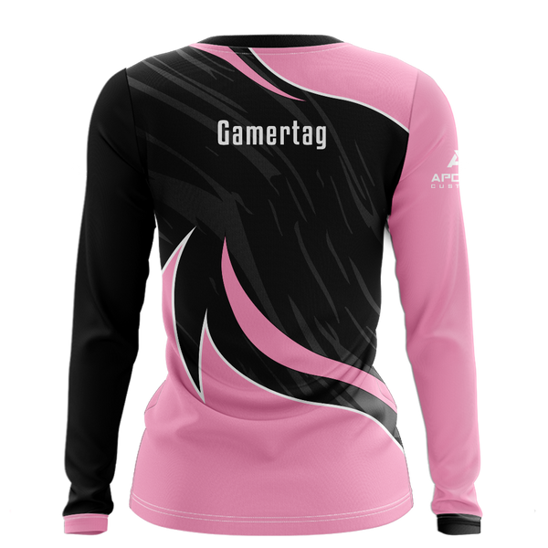 JaredFPS Women's Long Sleeve Jersey - Pink