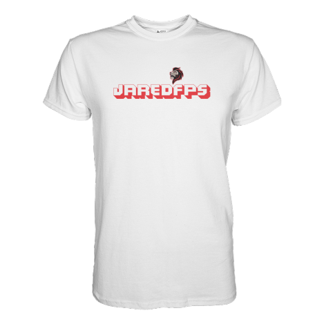 JaredFPS Home T-Shirt Red