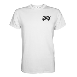 JerkyXP T-Shirt Heart Print - White