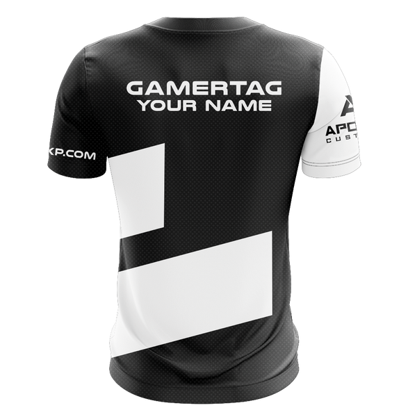 "JerkyXP ""Black Peppered"" Short Sleeve Jersey"